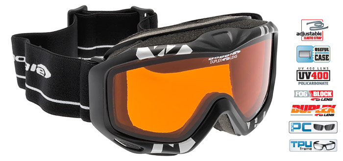 Ochelari de schi Goggle H976 Splash, pentru copii