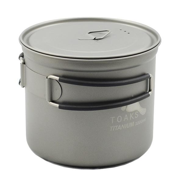 Vas 1000ml Pot Toaks Titanium