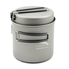 Vas 1100ml Pot with Pan Toaks Titanium