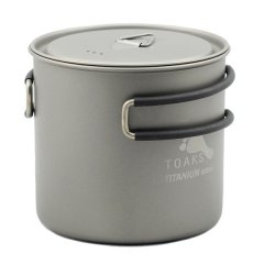 Vas 600ml Pot Toaks Titanium