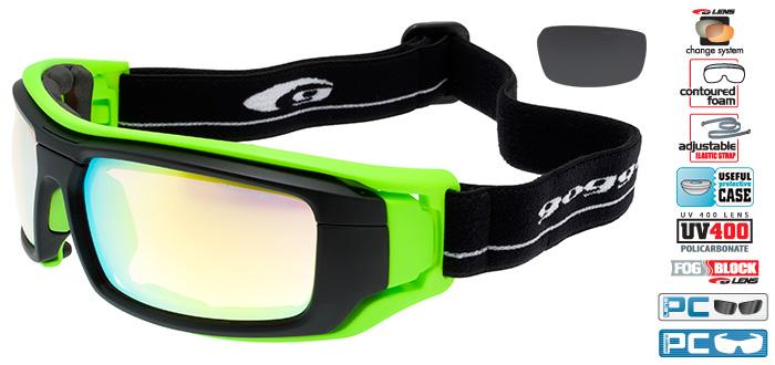 Ochelari de soare Goggle T414 Travez