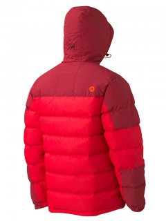 Marmot Mountain Down Jacket 71640 Team Red back