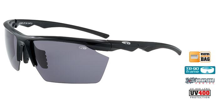 Ochelari de soare Goggle E138P Mikuno, cu lentile polarizate