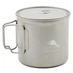 Vas 1100ml Pot Toaks Titanium
