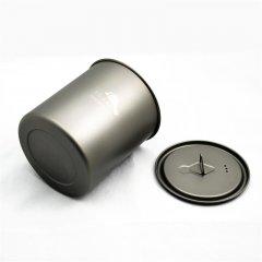 Vas 750 ml Pot Titanium fara maner