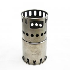 Vas Titanium backpacking wood burning stove