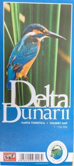 Schubert & Franzke Harta turistica Delta Dunarii