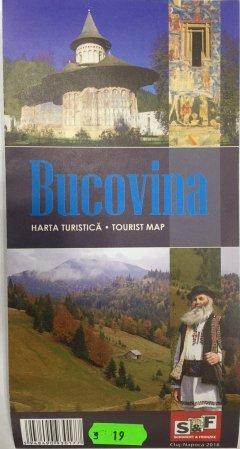 Schubert & Franzke Harta turistica Bucovina