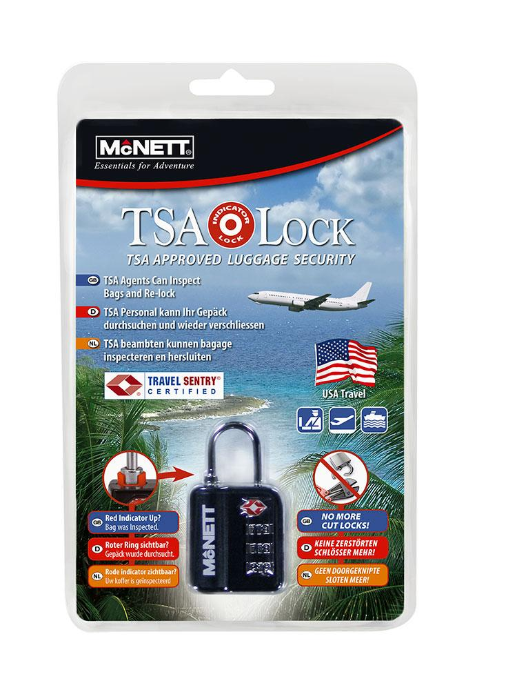 Lacat cu cifru McNett TSA