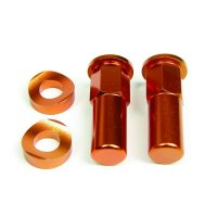 SURUB RIMLOCK CU DISTANTIER ORANGE 4MX