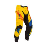 PANTALONI SHOT FLEXOR SYSTEM BLUE RED